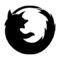 Firefox Logo Stencil