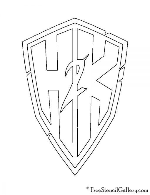 H2K-Gaming Logo Stencil