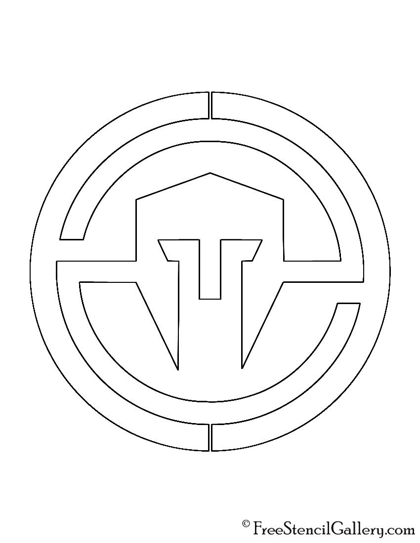 Immortals Logo Stencil