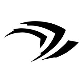 Nvidia Geforce Claw Logo Stencil
