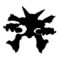 Pokemon - Alakazam Silhouette Stencil