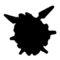 Pokemon - Cloyster Silhouette Stencil