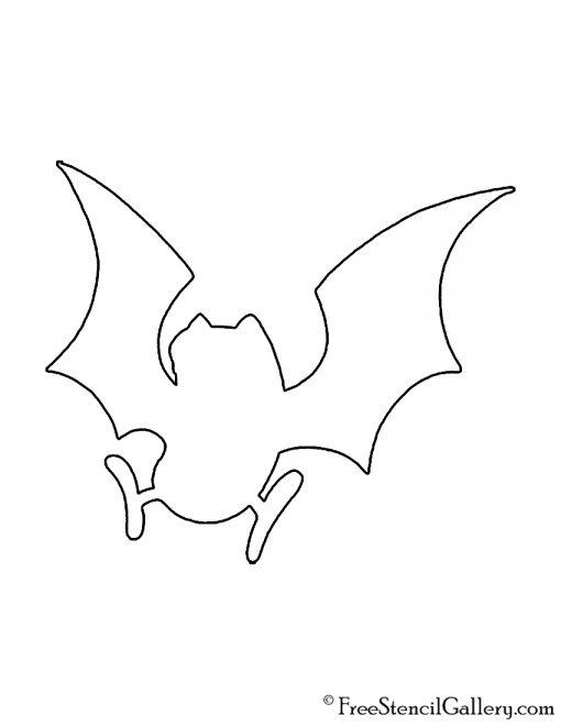 Pokemon - Golbat Silhouette Stencil