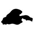 Pokemon - Muk Silhouette Stencil