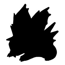 Pokemon – Nidoran 02 Silhouette Stencil