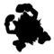Pokemon - Primeape Silhouette Stencil