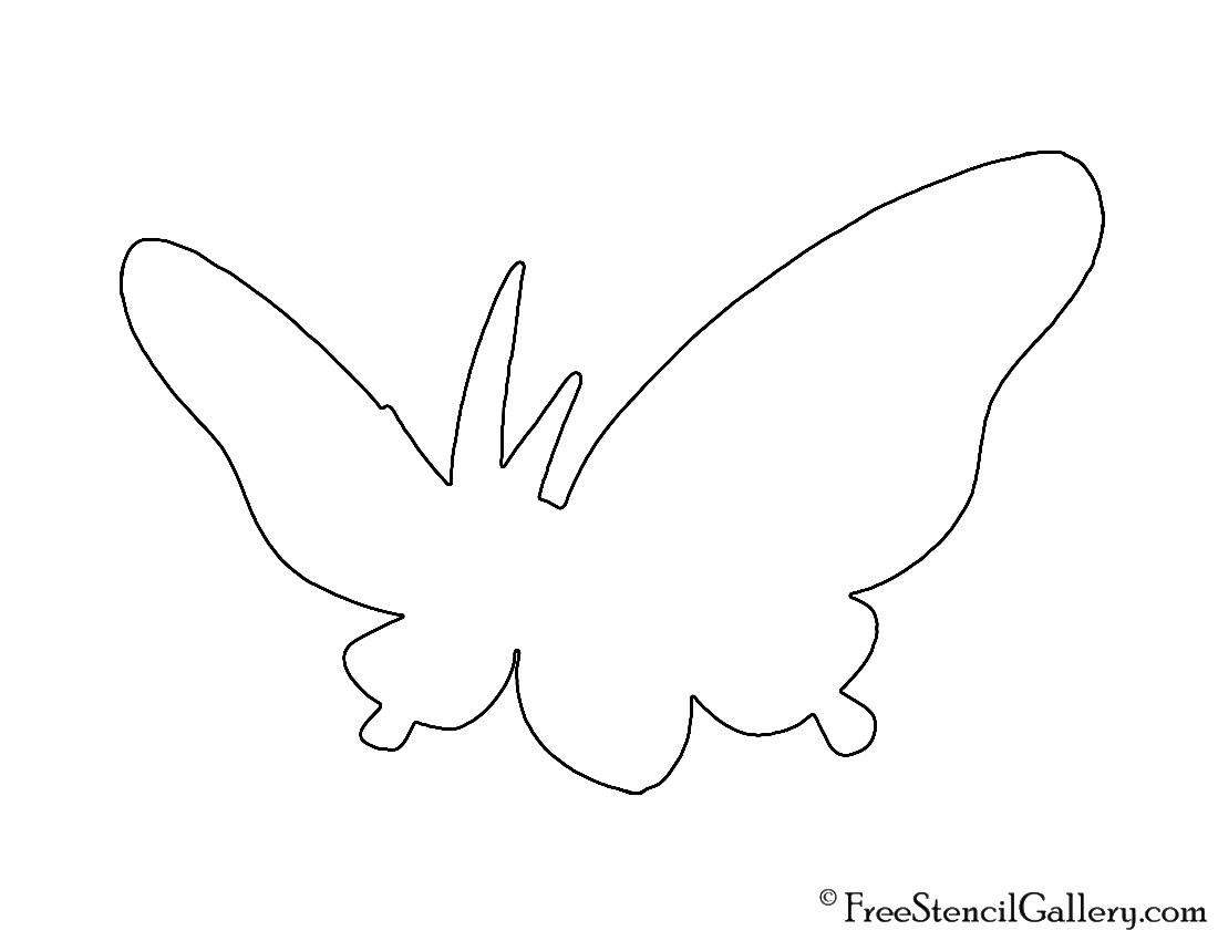 Pokemon - Venomoth Silhouette Stencil