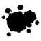 Pokemon - Weezing Silhouette Stencil
