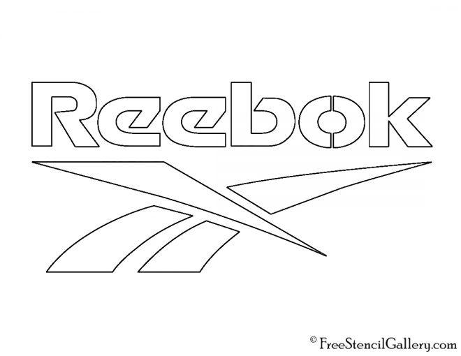 Reebok Logo Stencil