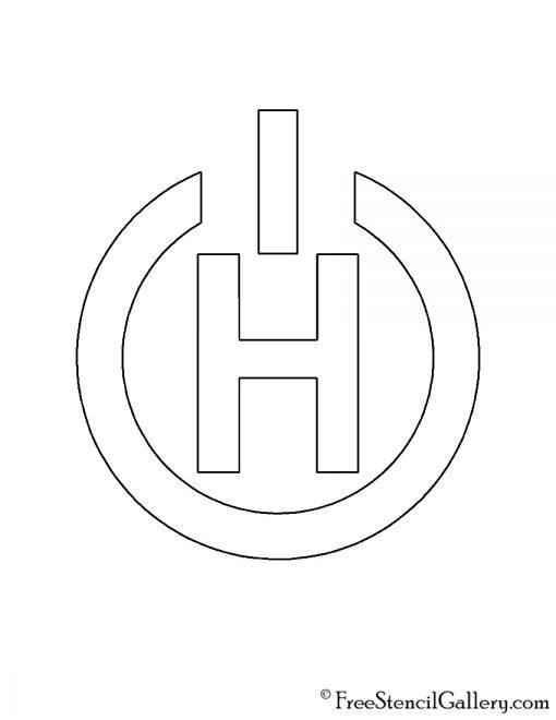 Titanfall - Hammond Robotics Logo Stencil