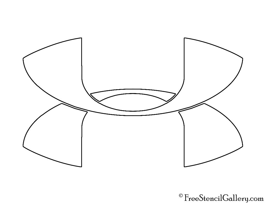 Under Armour Logo Stencil