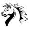 Unicorns of Love Logo Stencil
