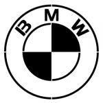 BMW logo stencil