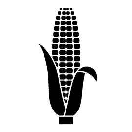 Corn Stencil