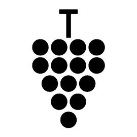 Grapes Stencil