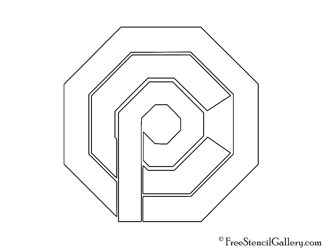 OCP Logo Stencil