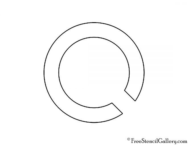 Oscorp Industries Logo Stencil