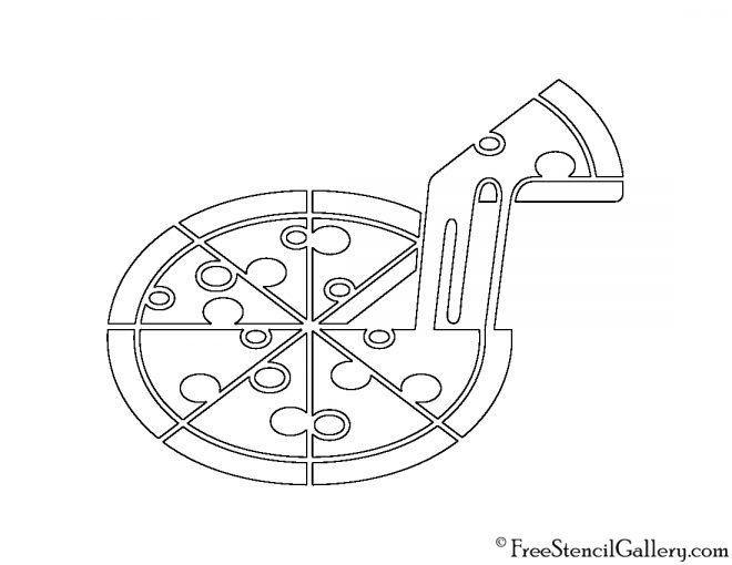 Pizza Stencil