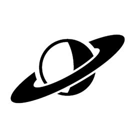 Planet 02 Stencil