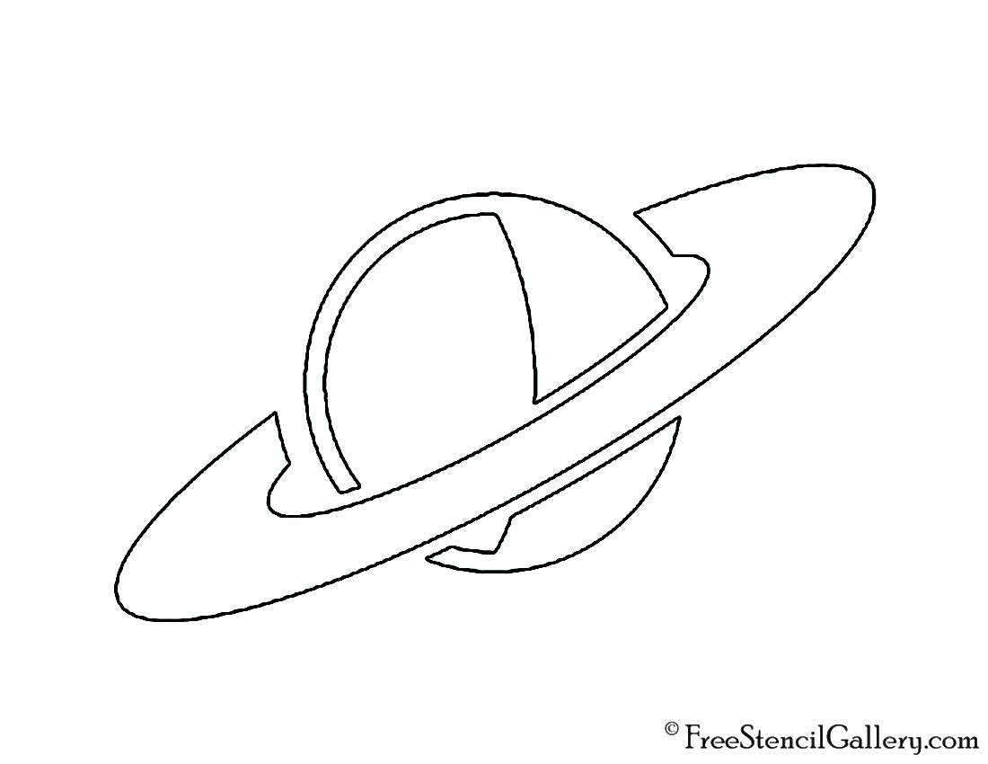 Planet Stencil
