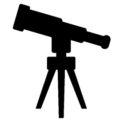 Telescope 01 Stencil