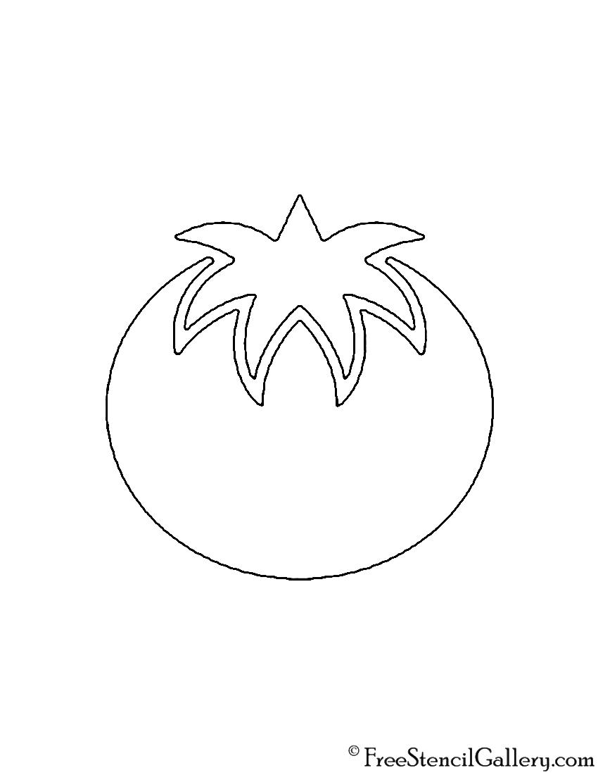 Tomato Stencil