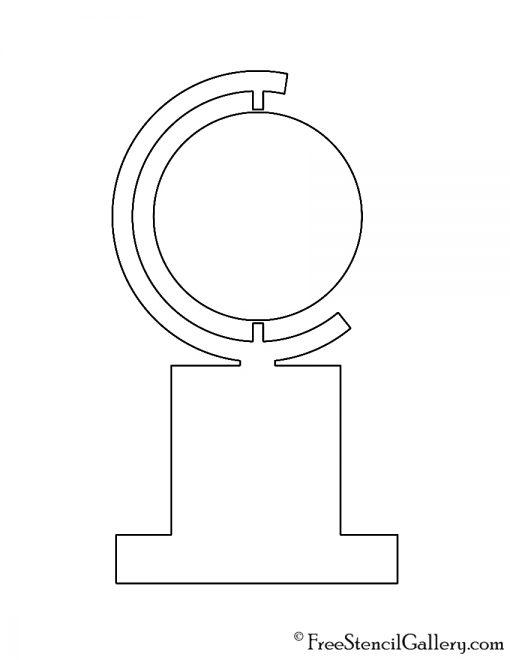 Tony Award Stencil