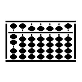 Abacus Stencil