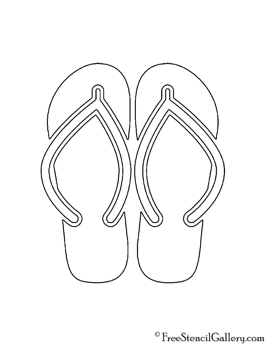 b50ffe201dc8c9 Sandals Stencil