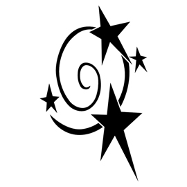 My Little Pony – Star Swirl Cutie Mark Stencil
