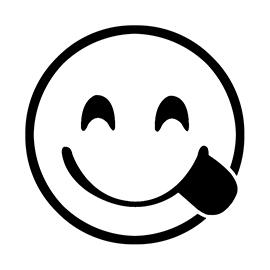 Emoji – Delicious Stencil