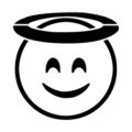 Emoji - Halo Stencil