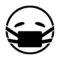Emoji - Medical Mask Stencil