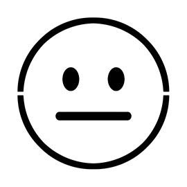 Emoji – Neutral Stencil