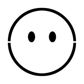 Emoji – No Mouth Stencil