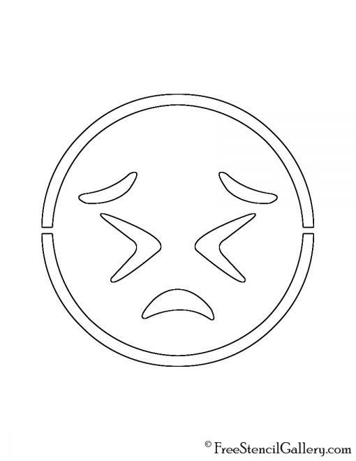 Emoji - Persevering Stencil