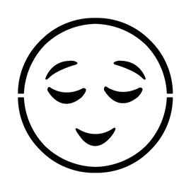 Emoji – Relieved