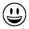 Emoji - Smiling 02 Stencil