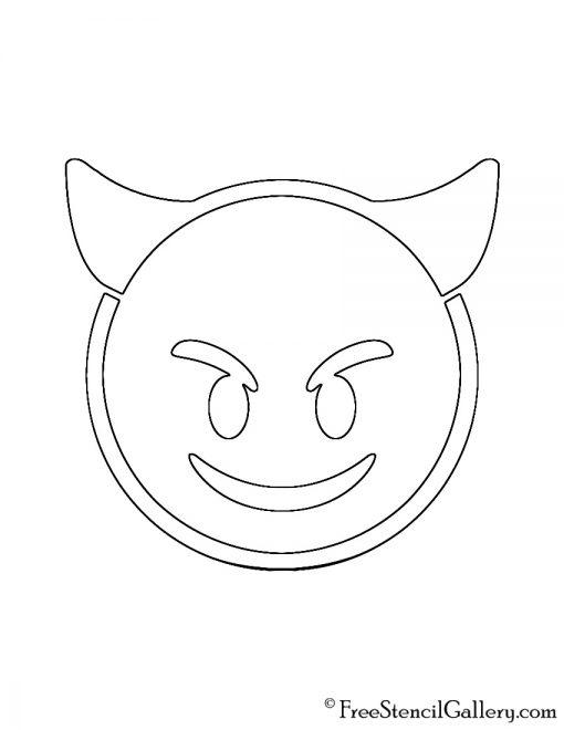 Crafty image throughout emoji stencils printable