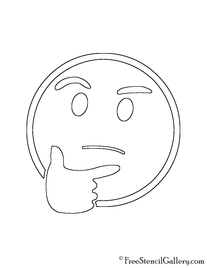 Punchy image for emoji stencils printable