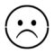 Emoji - Very Sad Stencil