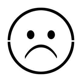 Emoji – Very Sad Stencil