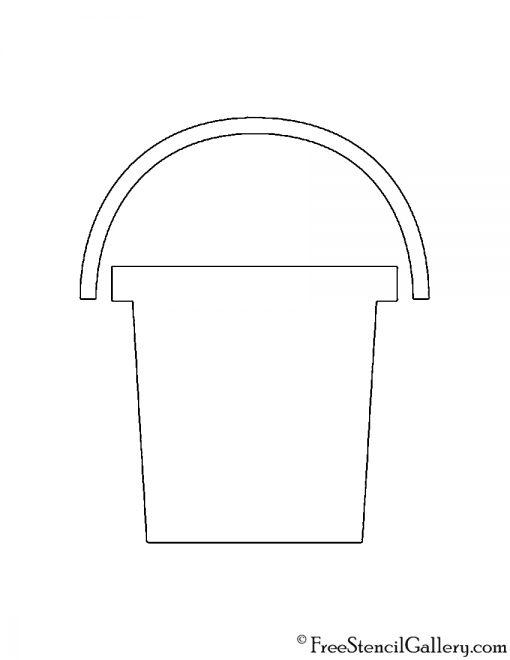 Bucket Stencil