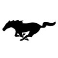 Ford Mustang Emblem Stencil