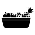 Fruit Basket Stencil