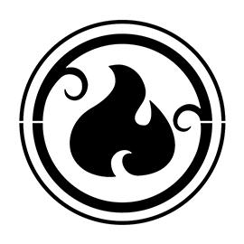 Lego – Elves Fire Symbol Stencil