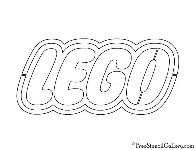 Lego Logo Stencil