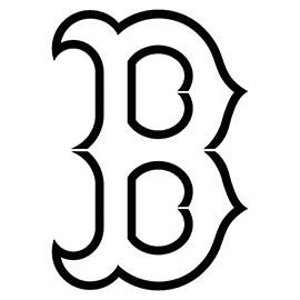 mlb boston red sox logo stencil free stencil gallery