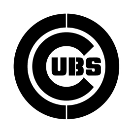 MLB – Chicago Cubs Logo Stencil