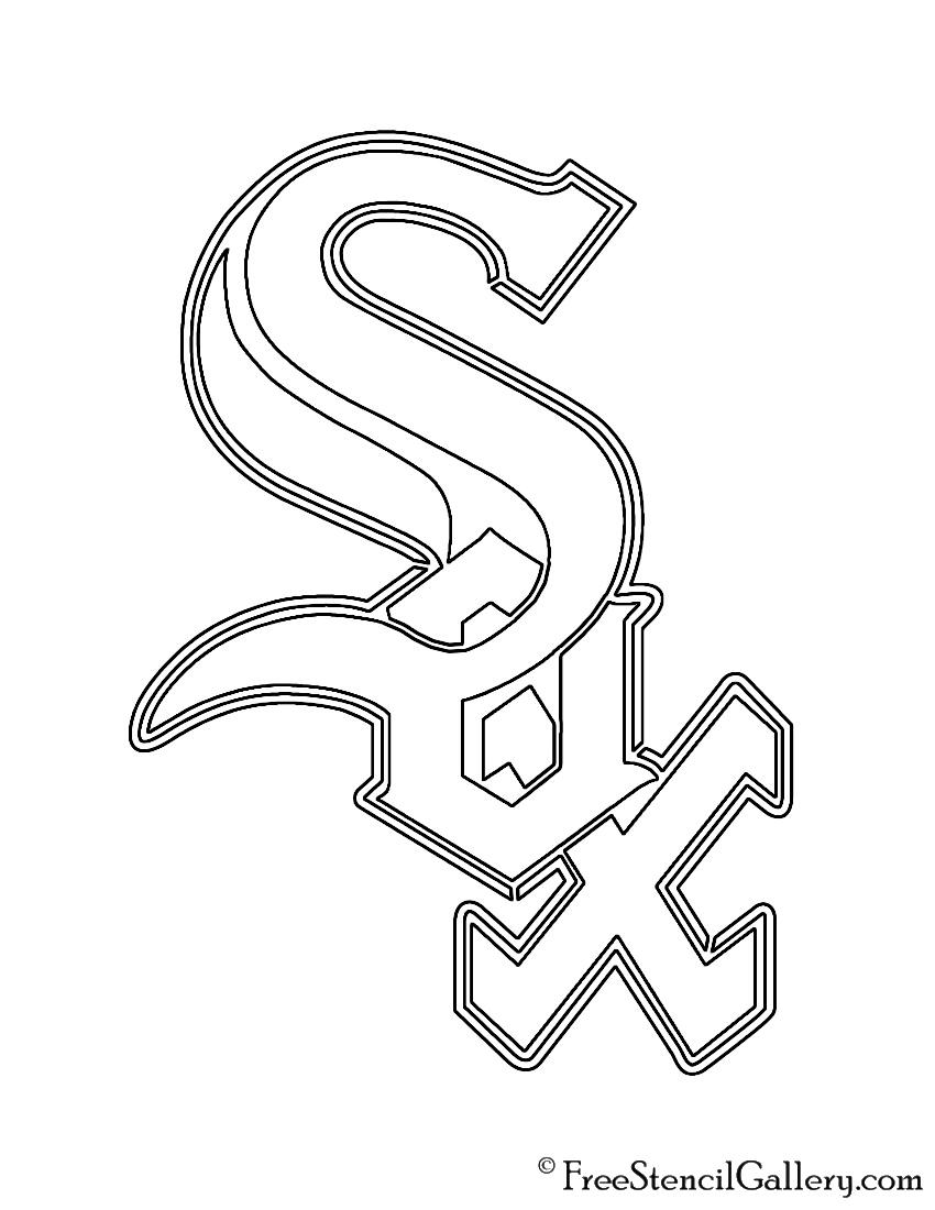 MLB - Chicago White Sox Logo Stencil